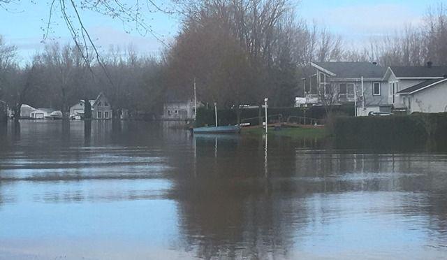 Inondations; 5% des dossiers réglés en Mauricie, 8% dans le Centre-du-Québec