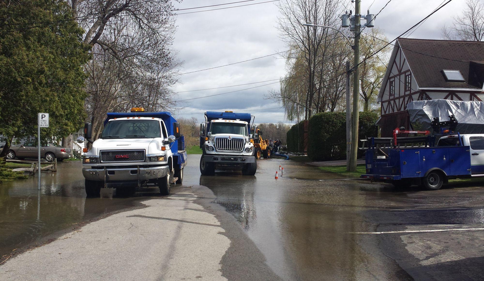 Inondations printemps 2017: Deux-Montagnes attend depuis l'été pour un OK sur une solution permanente