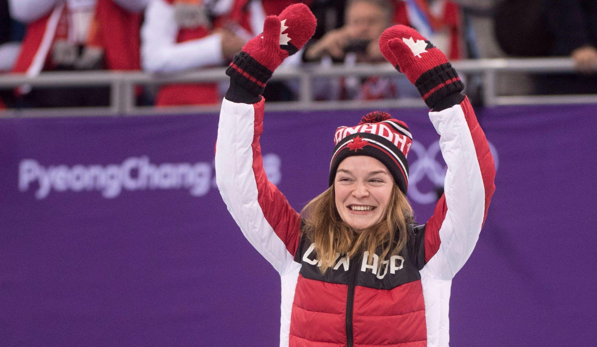 Kim Boutin remporte la médaille de bronze au 500 mètres