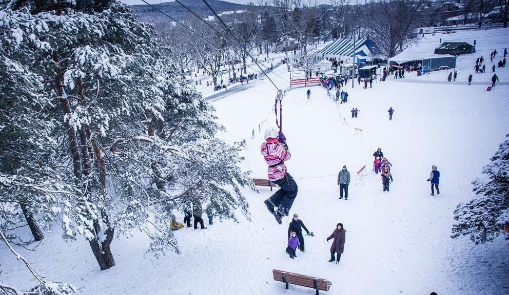 Le Carnaval de Sherbrooke exclusivement au parc Jacques-Cartier