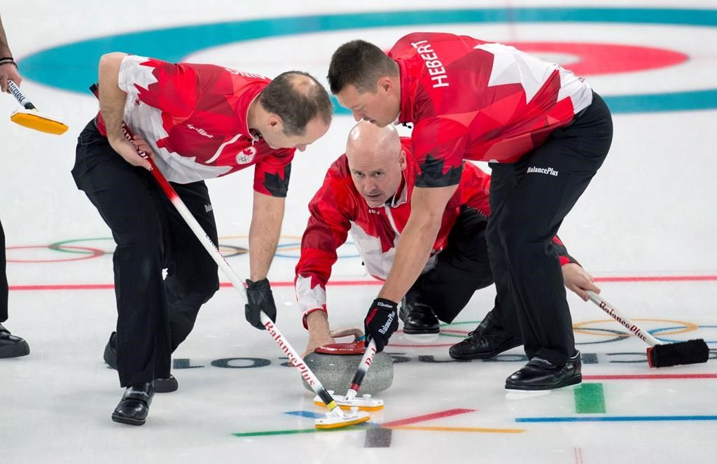 Le Canada lance son tournoi olympique de curling masculin avec deux victoires