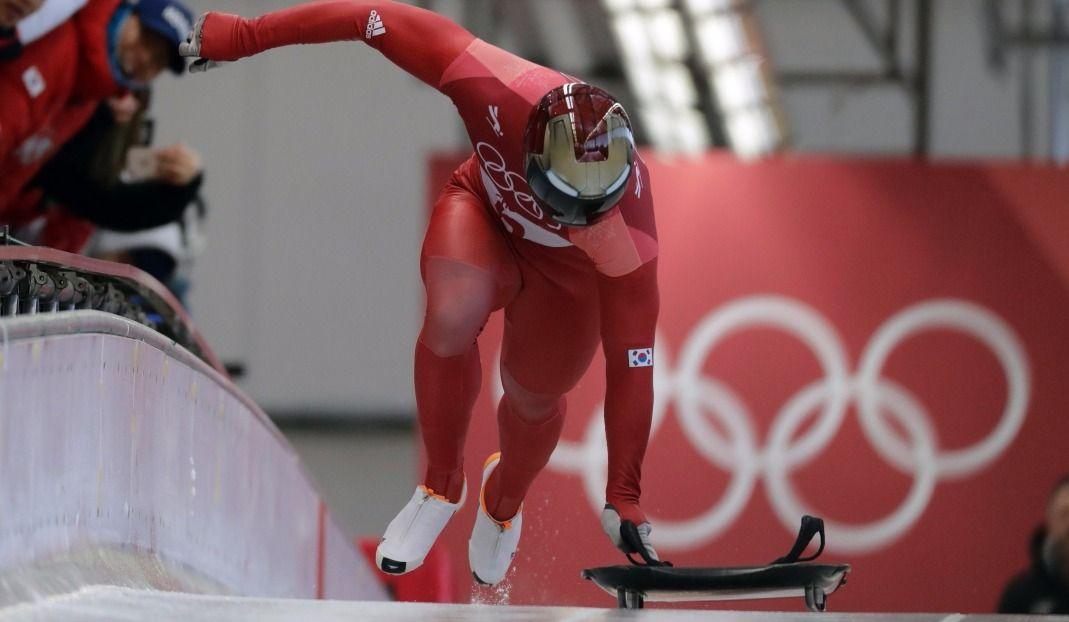 Yun Sung-bin à deux courses de l'histoire — Skeleton