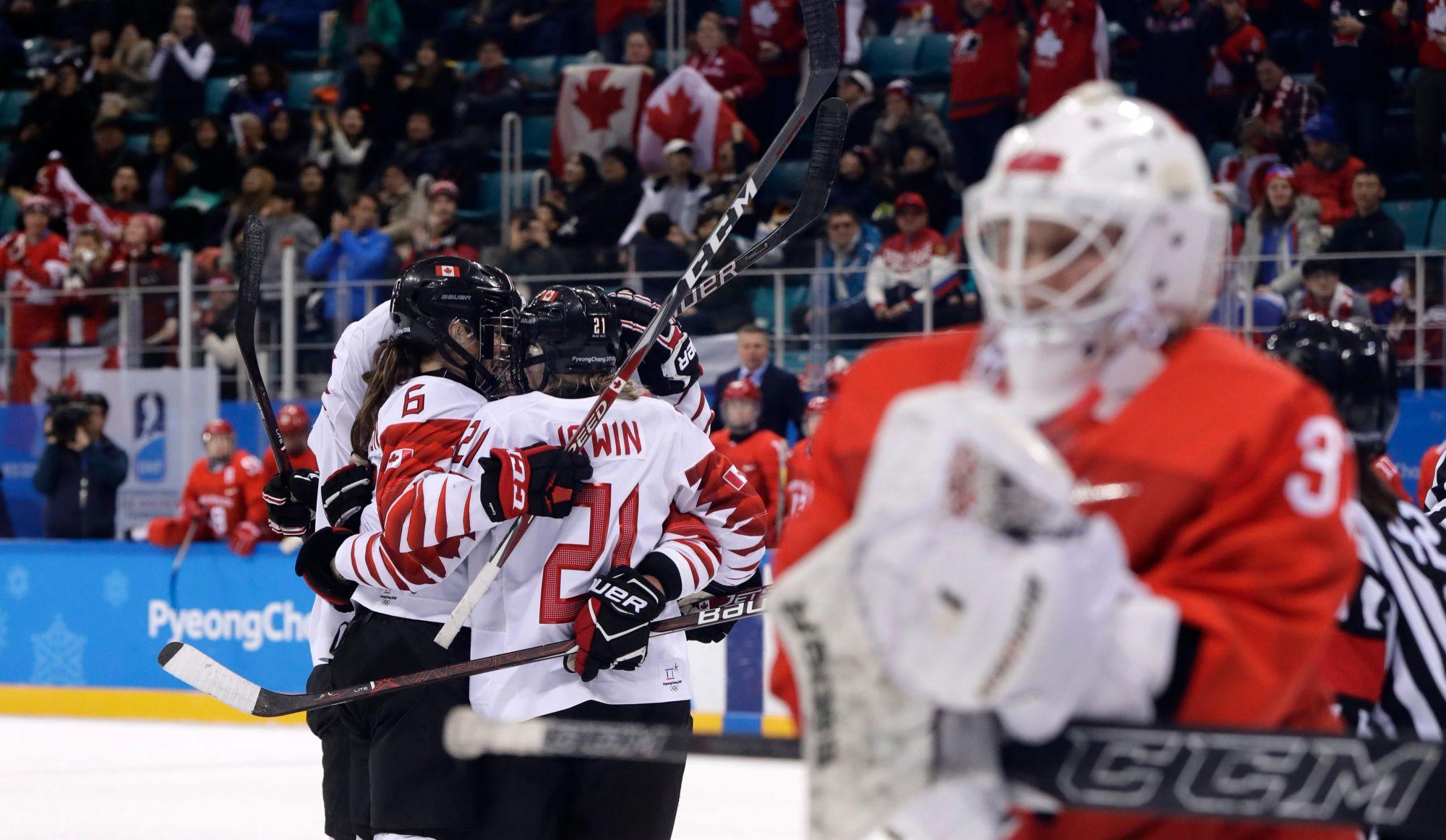 Hockey féminin à Pyeongchang: Canada contre USA en finale