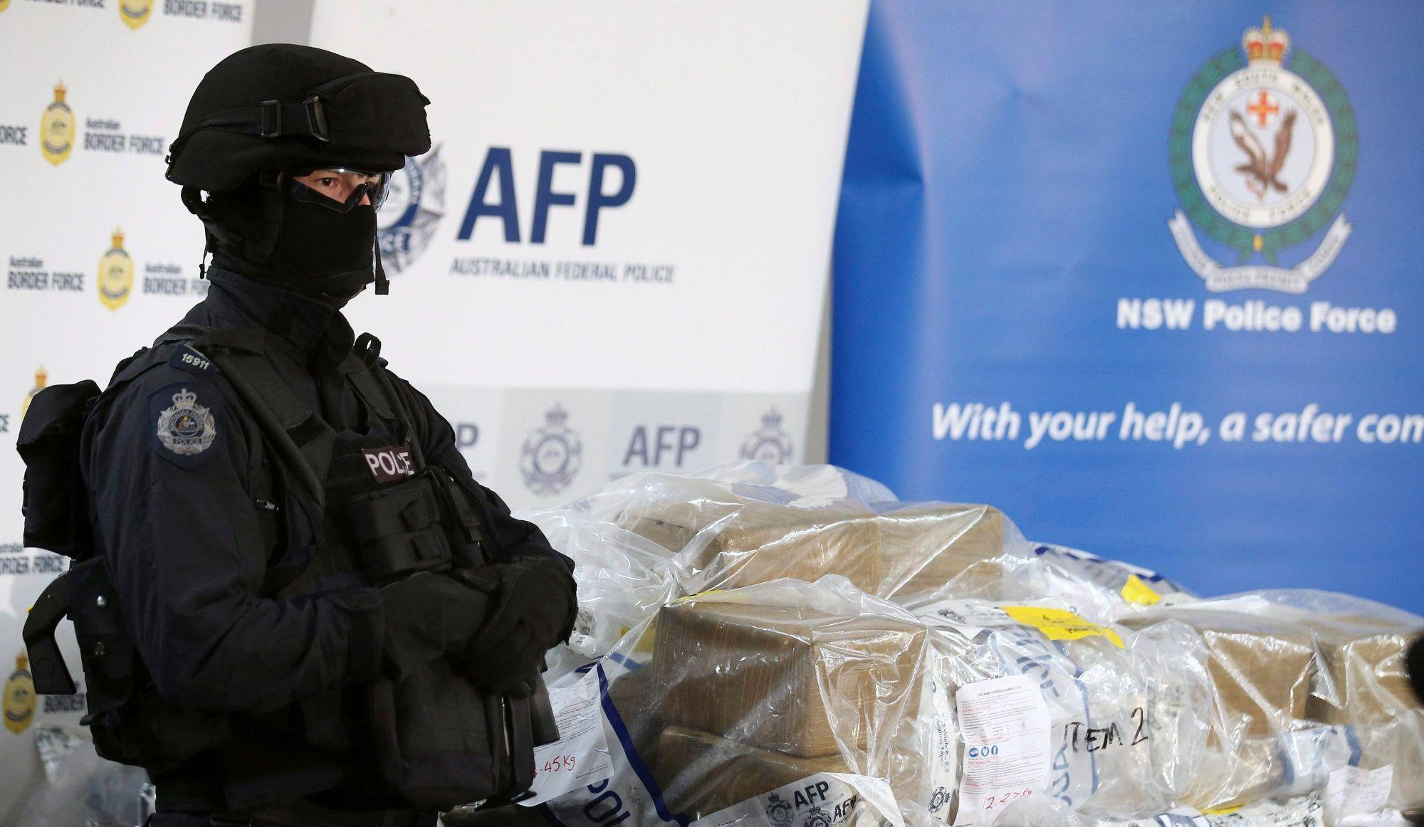 Importation de cocaïne en Australie: un autre Québécois plaide coupable