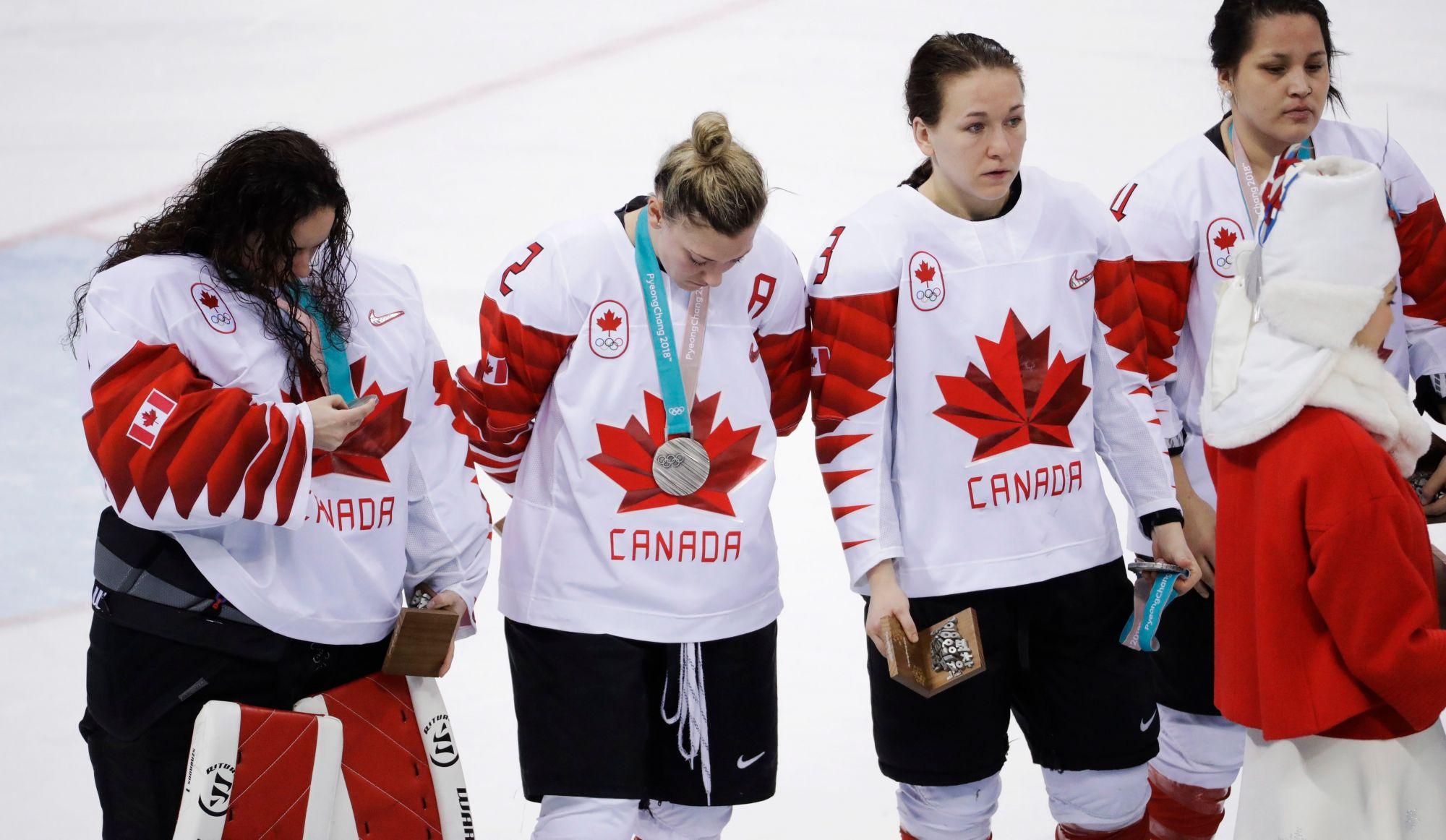 JO 2018: les Américaines sacrées en hockey sur glace (vidéo)