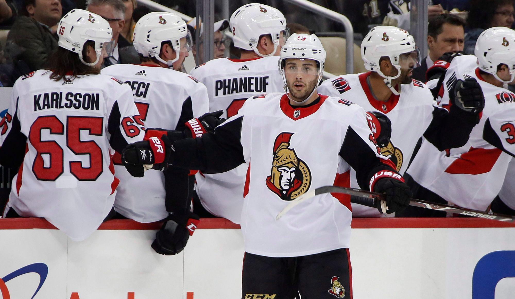 Les Penguins ont la main sur l'attaquant Derick Brassard des Sénateurs — LNH