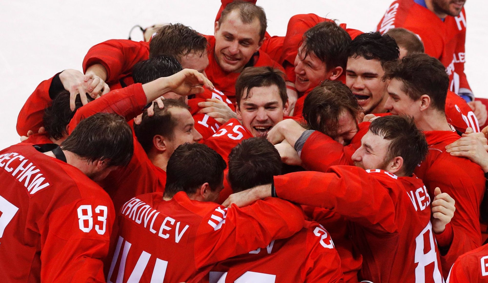 Les Russes sont champions olympiques