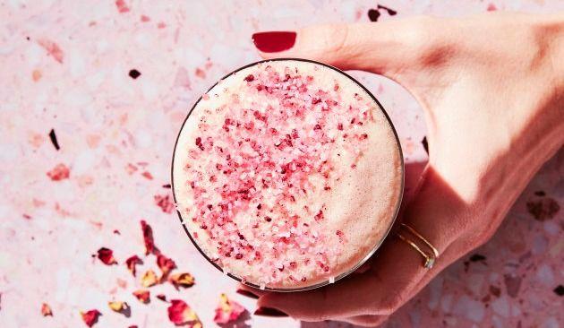 Un thé rose pour l'arrivée du printemps