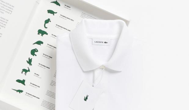 Le designer Lacoste largue son crocodile