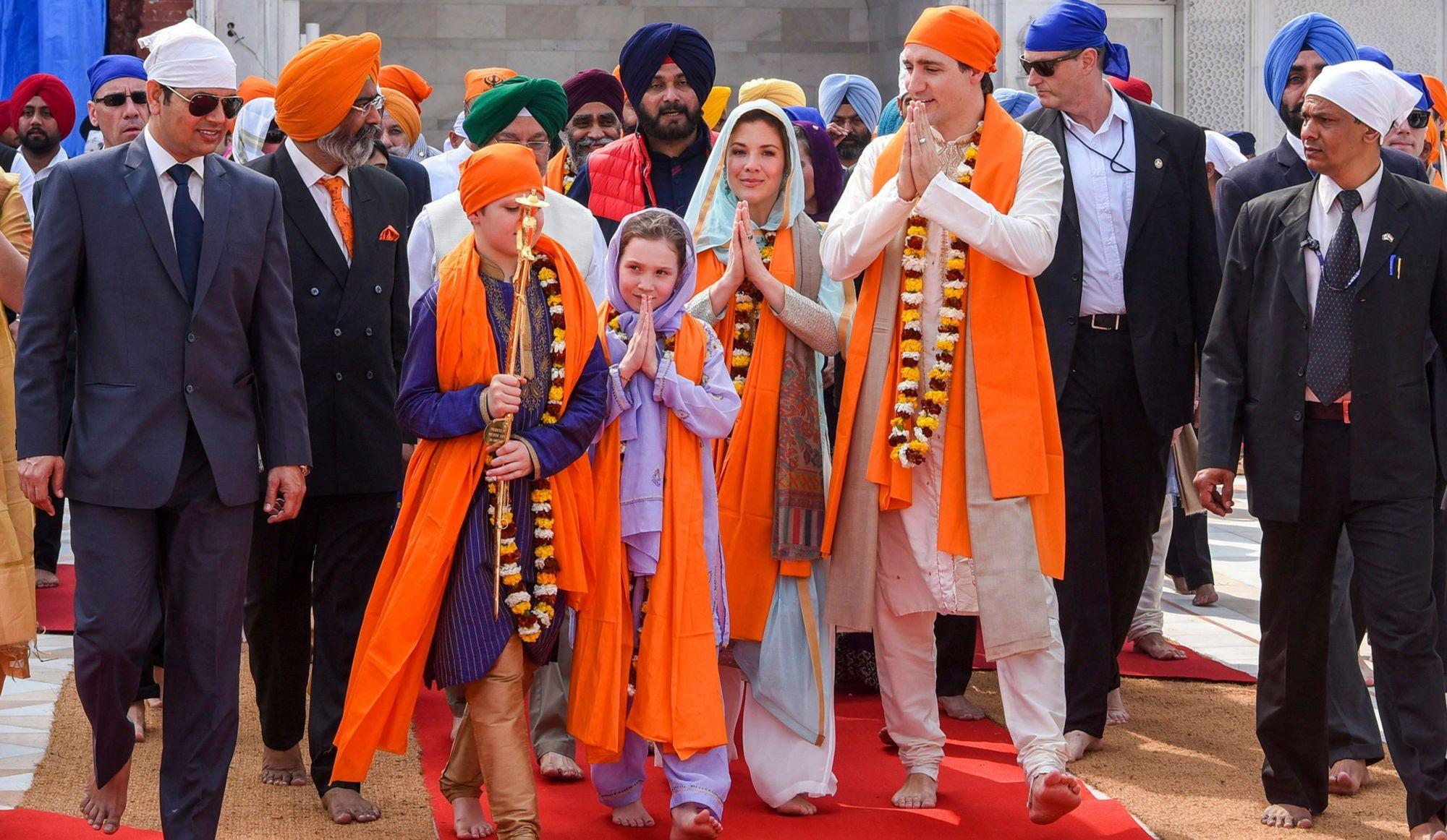 Voyage en Inde: Sophie Grégoire Trudeau réfute les allégations de vacances