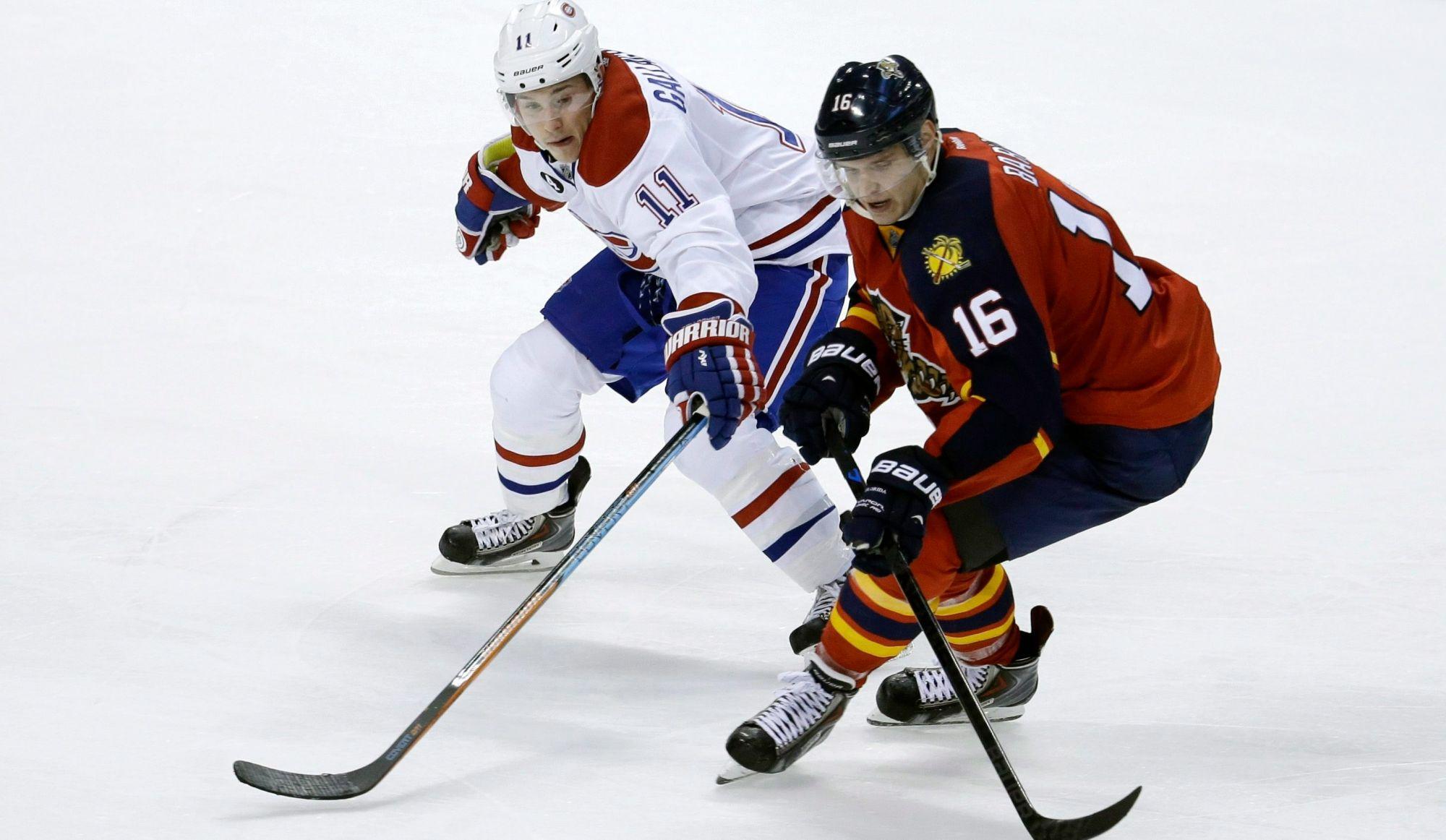 Les Canadiens visiteront ce soir les surprenants Panthers