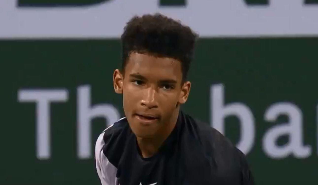 Félix Auger Aliassime remporte un premier match à Indian Wells