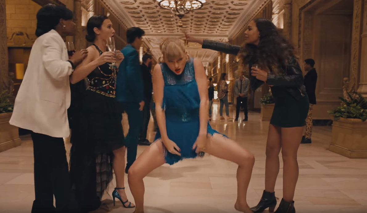 Allez, danse, Taylor Swift.