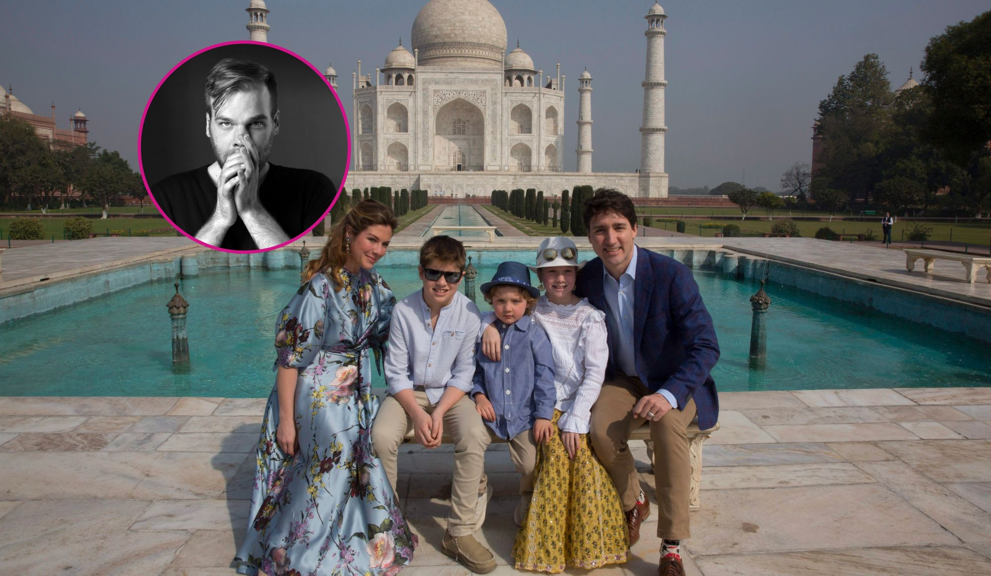 The Montreal Designer Behind the Dress that Sophie Trudeau wore to the Taj Mahal!