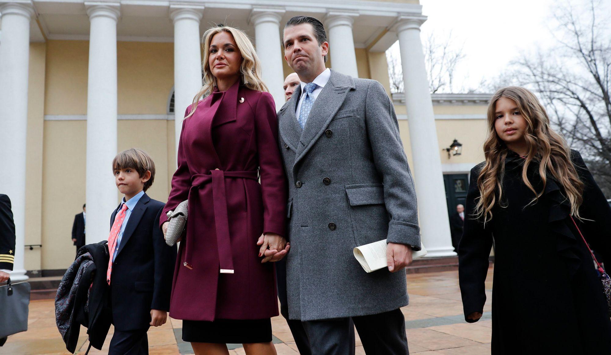 Trump Jr annonce son divorce avec Vanessa — USA
