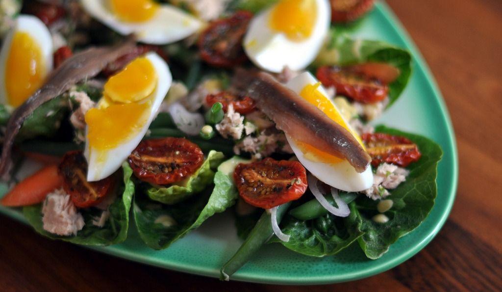 Une recette de vinaigrette + 3 idées de salades!