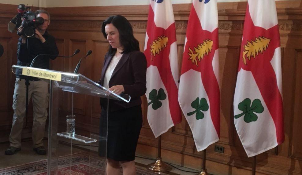 Valérie Plante remercie son directeur général