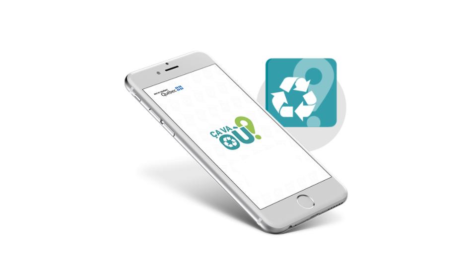 Une app de Recyc-Québec pour savoir quoi recycler