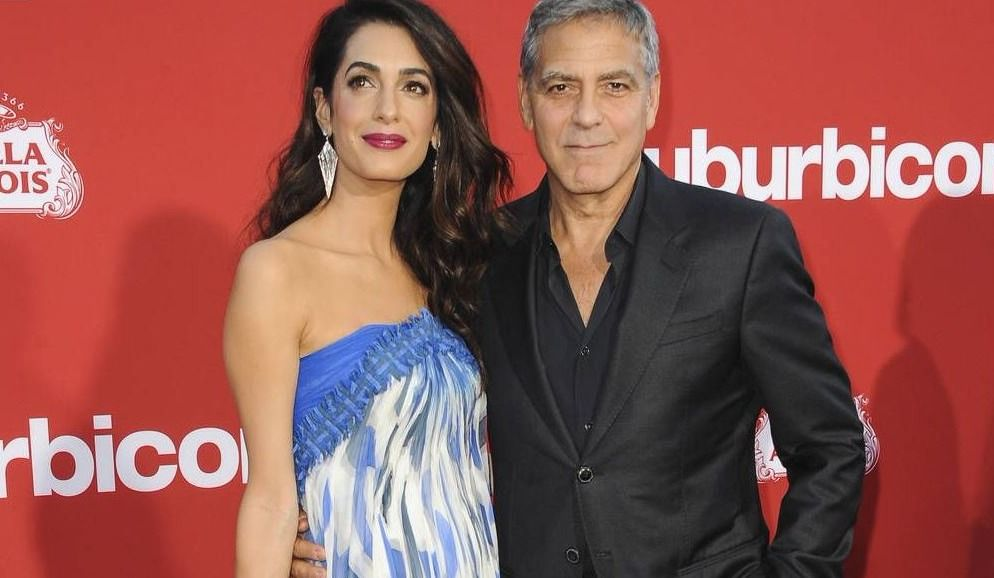 Amal Clooney: 'The twins' first word was mama'
