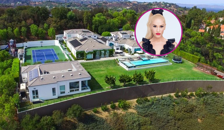 Gwen Stefani's Beverly Hills Home now $6 Million Cheaper
