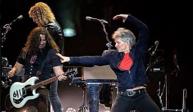 Bon Jovi entrera au Temple de la renommée du rock and roll