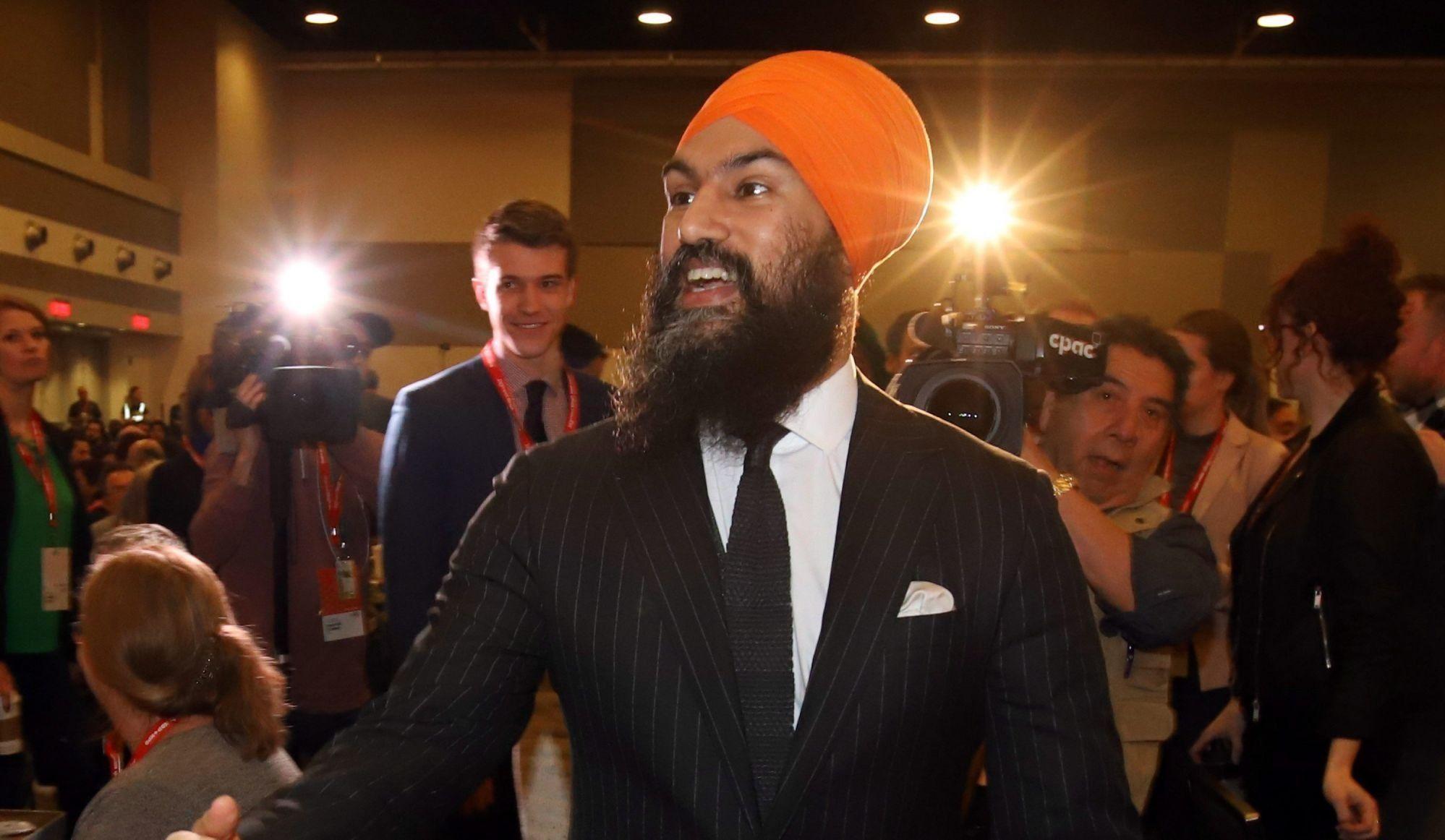 Jagmeet Singh annule sa visite au Saguenay