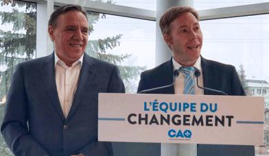 La CAQ a choisi son candidat dans Saint-Jérôme