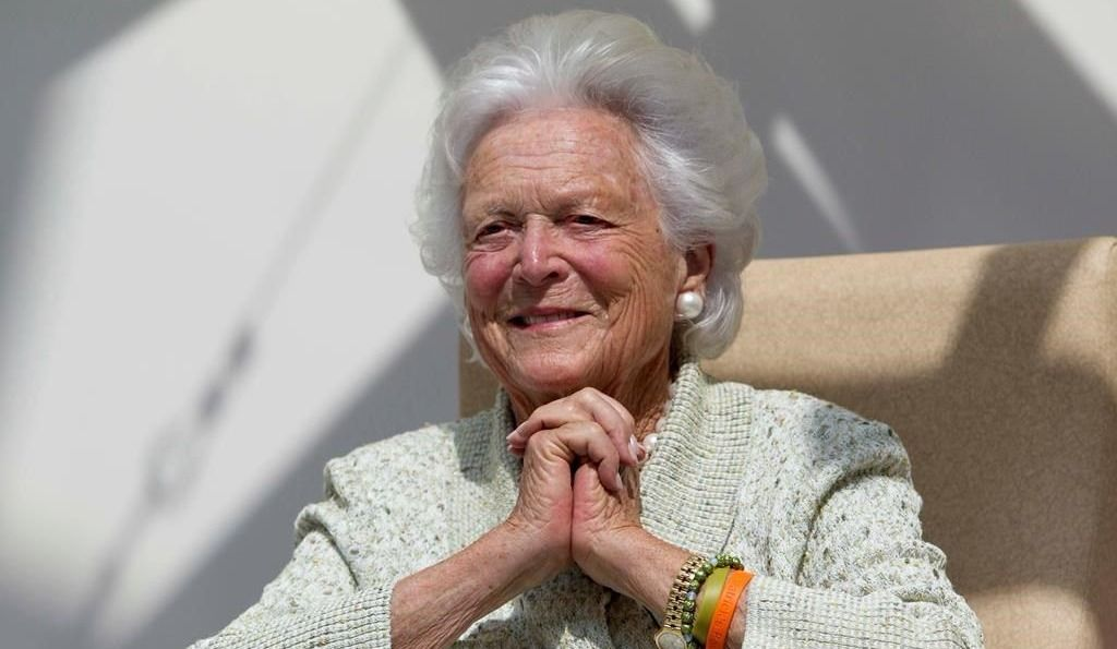 Barbara Bush aux soins palliatifs
