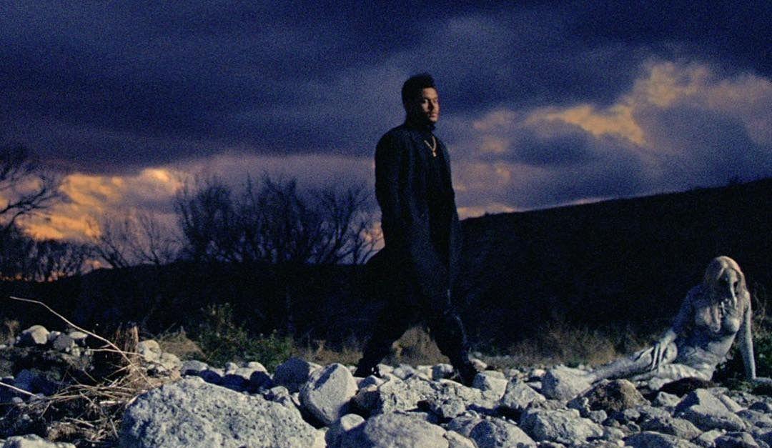 The Weeknd breaks down during Coachella set