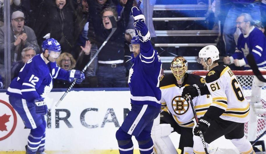 Marleau, Matthews et Andersen s'illustrent pour les Maple Leafs (vidéos)