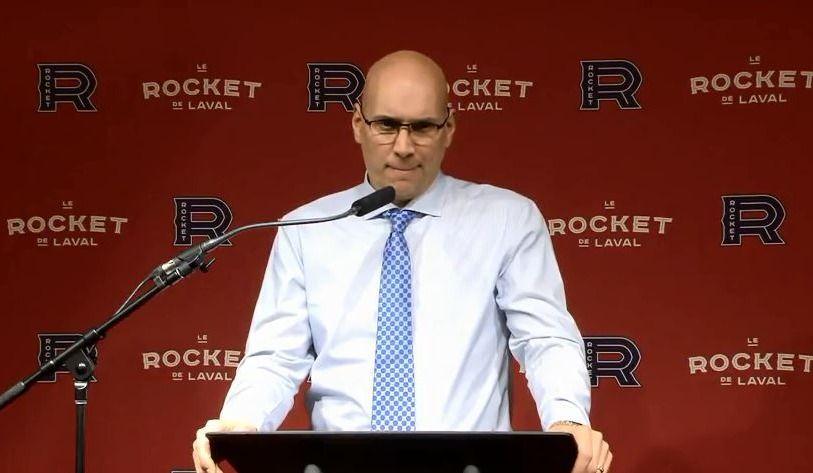 Sylvain Lefebvre est congédié — Rocket de Laval